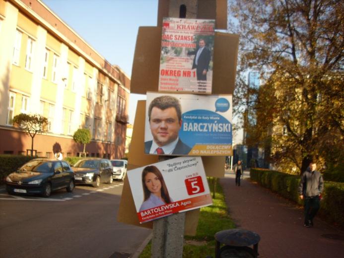 Dlaczego Tak Dużo W Częstochowie Wisi Plakatów Wyborczych